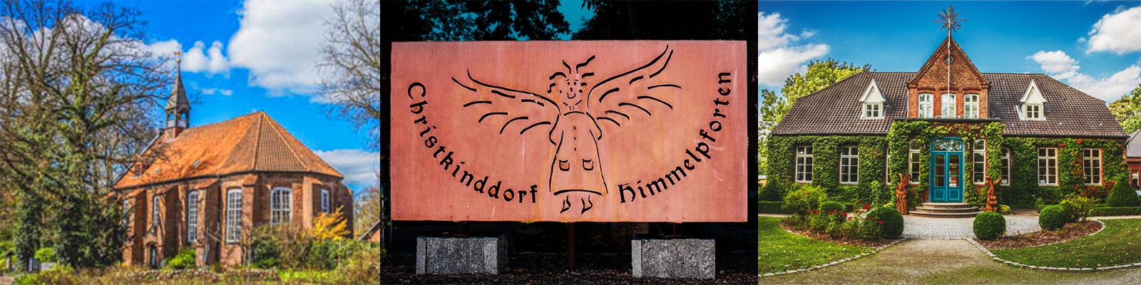 Christkinddorf Himmelpforten Banner